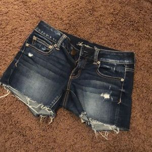 American Eagle Shortie 4 Denim